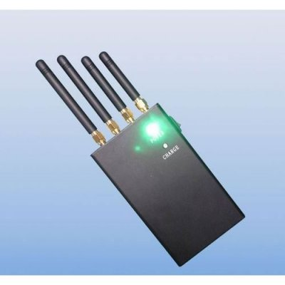 4 Band 2W Portable WiFi, Cell Phone Signal Blocker