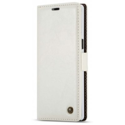 CaseMe for Samsung Galaxy Note 9 Flip Leather Wallet Phone Case with Cards Slots - WHITE