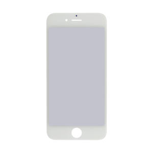 iPhone 6 Glass Lens Screen, Frame, OCA and Polarizer Assembly (CPG) - White