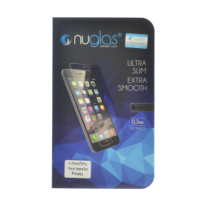 NuGlas Tempered Glass Privacy Screen Protector for iPhone 12 Pro Max/12 Pro Max (2.5D)