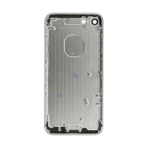 iPhone 7 Rear Case - Silver (No Logo)