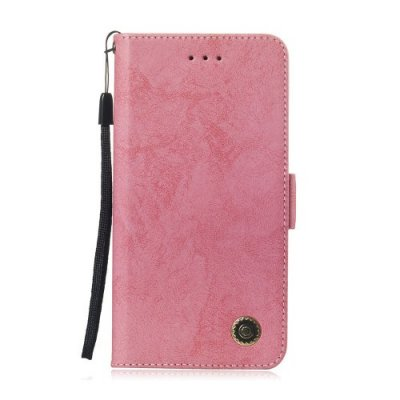 Leather Case for iPhone 12-6 S - HOT PINK