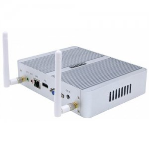 HYSTOU P06 i3 6100U Fanless Mini PC - GRAY