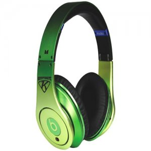Beats By Dr Dre Studio Over-Ear Nate Robinson(Apple green) Headphones