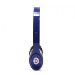 Beats By Dr Dre Solo High Definition Over-Ear Dark Purple Headphones with Built-In Mic