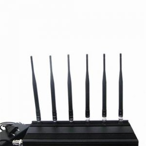 6 Antenna Cell phone,GPS & RF Jammer (315MHz/433MHz)