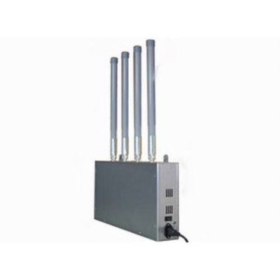 High Power Mobile Phone Jammer with Omni-directional Firberglass Antenna