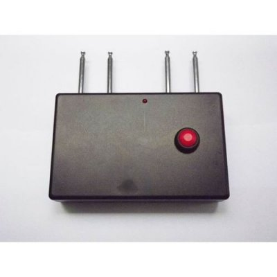 Portable Quad band RF Jammer (310MHz/ 315MHz/ 390MHz/433MHz)