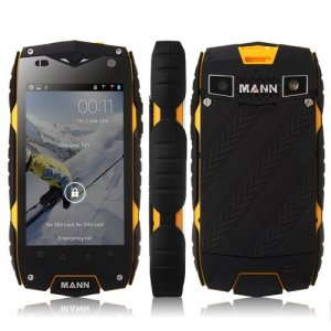 Mann ZUG 3 Outdoor Sports IP68 Waterproof Qualcomm Quad Core Android 9.1 Smartphone - Yellow
