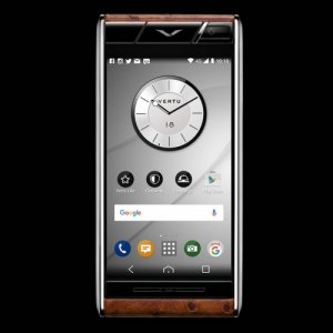 Vertu Aster Cognac Ostrich Clone Android 9.1 Snapdragon 821 4G LTE luxury Phone