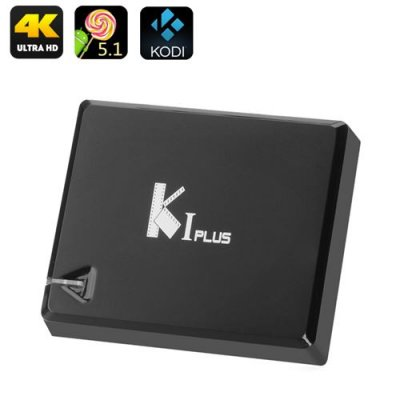 K1 Android TV Box - Android 9.1, 4K, Amlogic S905 Quad Core CPU, HDMI 2.0, H.265 Decoding