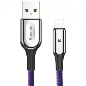 Baseus CALXD - A01 USB-A to 8 Pin Charge Cable - PURPLE