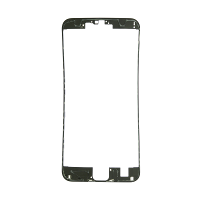 iPhone 6s Plus Front Frame with Hot Glue - Black