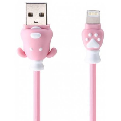 REMAX Dog Data Cable (RC 106i) - PINK