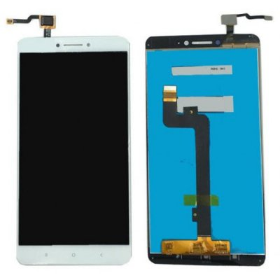 White Screen LCD Assembly for Xiaomi Max 2 - WHITE