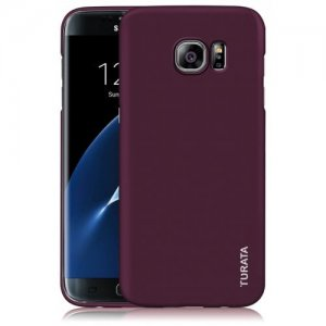 TURATA Premium Coated Light Weight Ultra Thin Hard PC Case for Samsung S7 Edge - DULL PURPLE