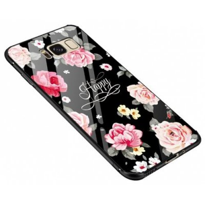 Pattern Steel Glass Phone Case for Samsung Galaxy S12 Pro Max - MULTI-E