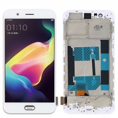 Original OPPO LCD Screen Display Touch Digitizer Assembly Replacement for OPPO R9S Plus - WHITE