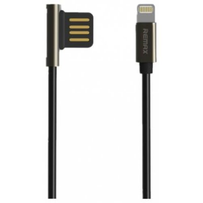 REMAX Emperor Zingalloy Data Cable (RC 054i) - TWILIGHT BLACK