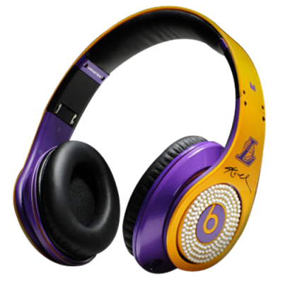 Beats By Dr Dre Studio Kobe Bryant Diamond Headphones