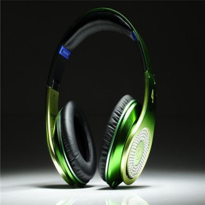 Beats Studio Headphones Apple Green With Diamond Edition