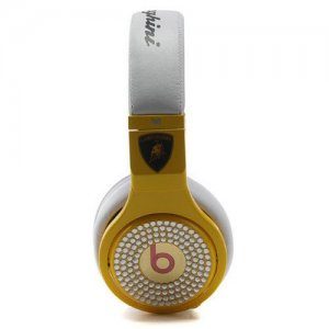 Beats By Dr Dre Pro High Performance Lamborghin Diamond Headphones
