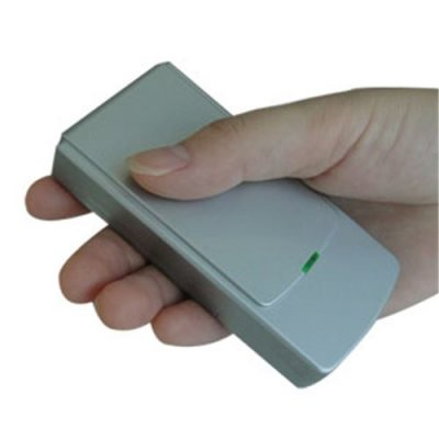 Mini Portable Cell phone & GPS Jammer + Silvery(GSM,CDMA,DCS,GPS)