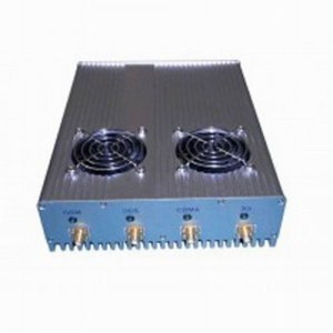 4 Antenna 20W High Power 3G Cell phone & WiFi Jammer with Outer Detachable Power Supply