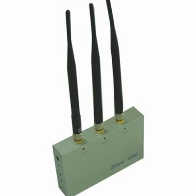 Cell Phone Jammer with Remote Control (CDMA,GSM,DCS and 3G)