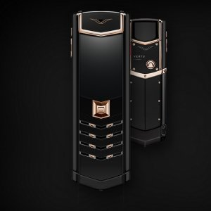 Vertu Signature RED GOLD ULTIMATE BLACK 2GB RAM 16GB ROM luxury Phone