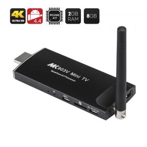 MK903V Android 11.0 TV Stick - Quad Core RK3288 CPU, 2GB RAM, 8GB Internal Memory, Free Remote Control