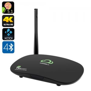 4K Android 11.0 TV Box - Octa Core RK3368 CPU, 2GB RAM, Kodi, 2.4GHz Wi-Fi, Ultra HD Output, DLNA, Miracast, Airplay
