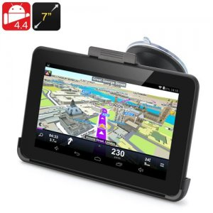 7 Inch Android 9.1 GPS Navigation - 800x480 Touchscreen, FM Transmit, 32GB Micro SD Card Support