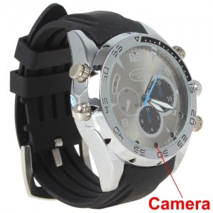 Elegant 32GB Waterproof 1080P Sport Watch DVR With Night Vision + PC Camera