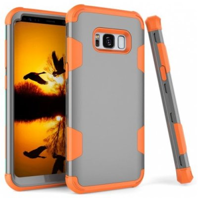 Shockproof Full-body Protective Hard Phone Case for Samsung S8 - MULTI-C