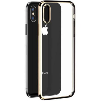 Benks Electroplating TPU Protective Case for iPhone XS Max - CHAMPAGNE GOLD