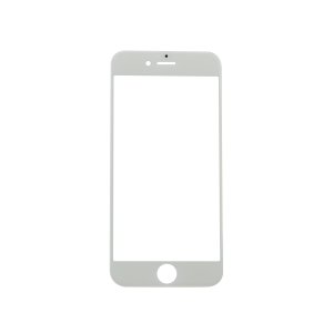 iPhone 6s Glass Lens Screen - White