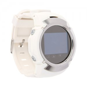 Portable Smart GPS Tracking Watch Mobile 1.3 Inch White