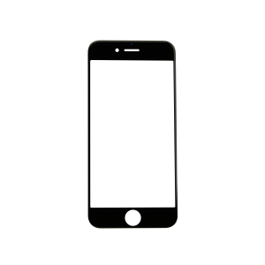 iPhone 6s Glass Lens Screen - Black