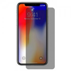 Hat - Prince 0.26mm 9H 2.5D Tempered Glass Screen Protector for iPhone XS - X - DARK GRAY