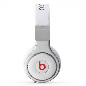 Beats By Dr Dre Pro Over-Ear White Headphones