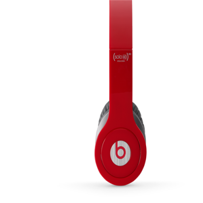 Beats By Dr Dre Solo HD Specail Edtion On-Ear Red Headphones