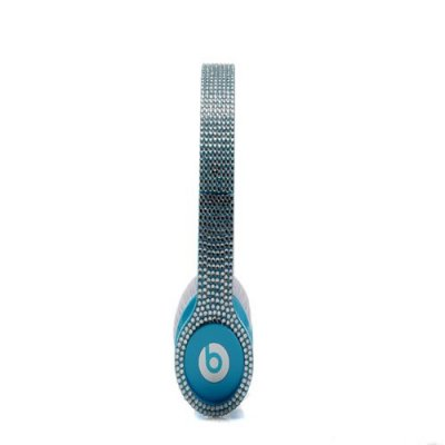 Beats By Dr Dre Solo HD High Performance diamond Headphones Smartie Blue