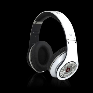 Beats by Dr Dre Studio Over-Ear White Set Auger Heaphones