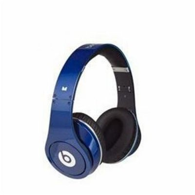 Monster Beats By Dr Dre Studio Powered Isolation Headphone Blue