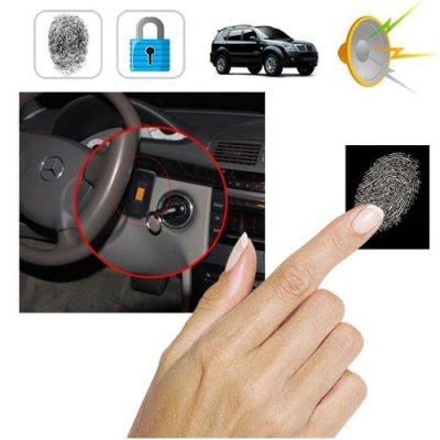 ABS flame-resistant Fingerprint Security System for Cars