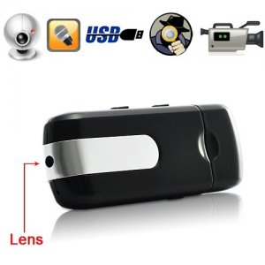 USB Flash Disk Spy DVR with HD Pinhole Camera Support Motion Detection