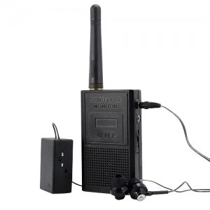 long Distance Wireless spy Cord-less Voice Monitor ISM/ UHF band Audio bug