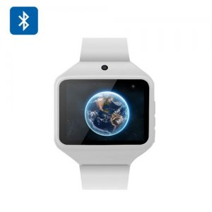 2 Inch Large Screen Bluetooth Watch Phone - SIM Card Slot, 0.3MP Camera, FM Radio, SC6531 CPU, 64MB RAM, 16GB SD Card Support