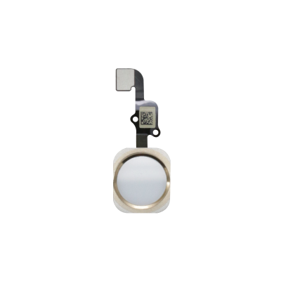 iPhone 6s and 6s Plus Home Button Assembly - White/Gold